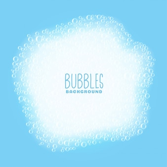 Soap or shampoo bubbles background