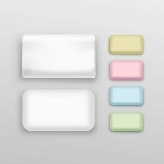 ソープスクエアパッケージングパッケージパックボックスセット