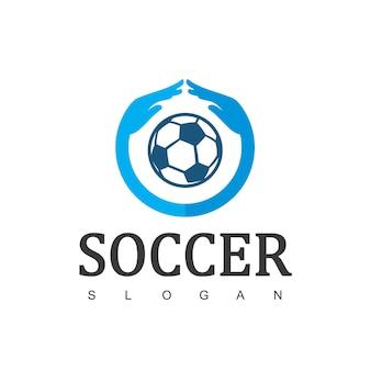 축구 협회 로고 또는 축구 관리 기호
