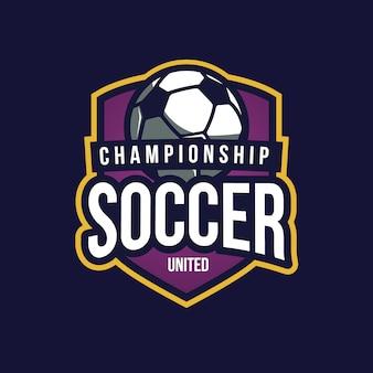 Soccer background design