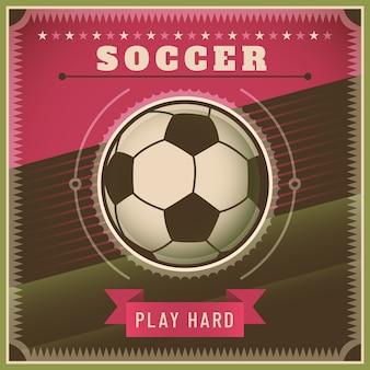 Футбольный дизайн фона