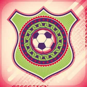 サッカーの背景デザイン