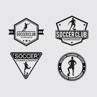 Soccer badge & stickers