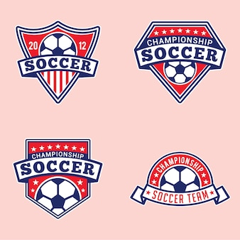 Soccer badges and logos