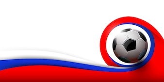 サッカーボールと白