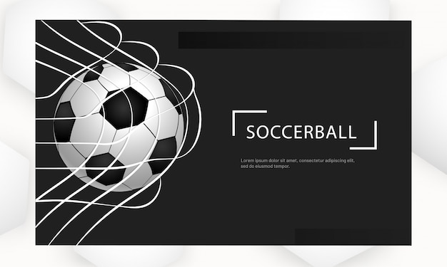 Soccer ball club website.