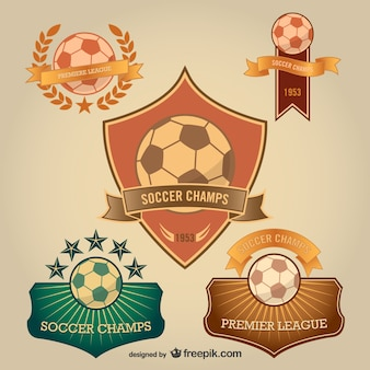 Soccer ball labels