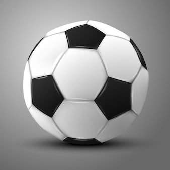 Soccer balloon illustration