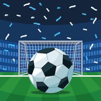 Плакат чемпионата по футболу