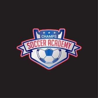 Soccer club badge