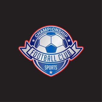 Soccer club badge