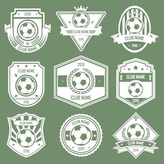 Soccer club emblems