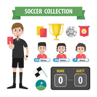 Soccer collection