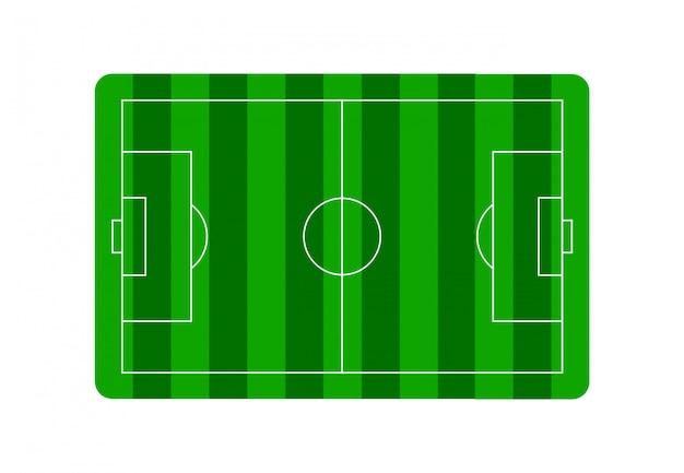 Soccer field football field