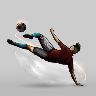 Soccer on floor