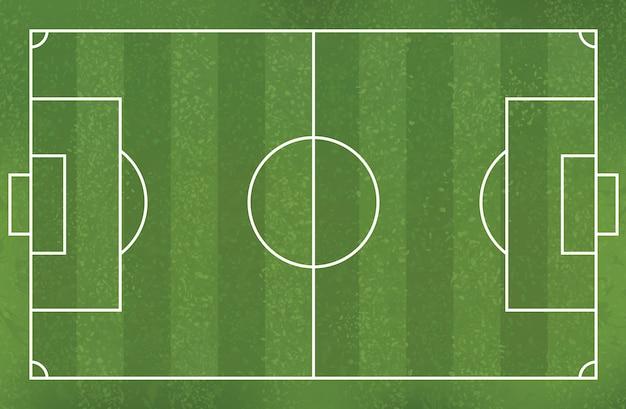 Soccer football field background.