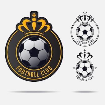 Soccer or football logo design