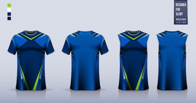 Дизайн шаблона футбольной майки, футбольной формы, баскетбольной формы или спортивной одежды.