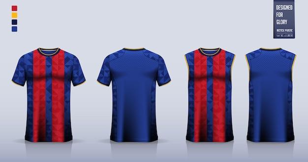 Soccer jersey football kit mockup template design tank top for basketball jersey running singlet