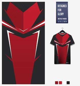 Soccer jersey pattern design