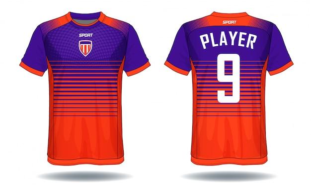 Soccer jersey sport t-shirt design.