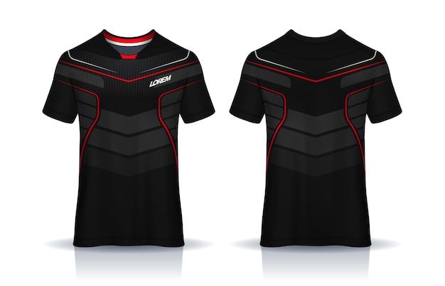 Soccer jersey t-shirt design