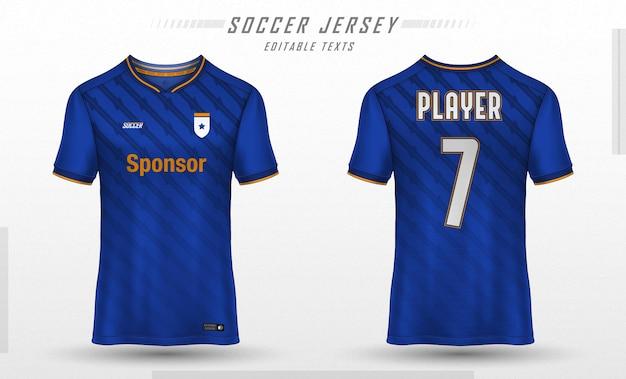 축구 유니폼 템플릿 스포츠 t 셔츠 디자인