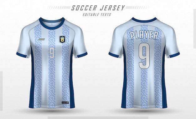 Maglia da calcio modello sport t shirt design