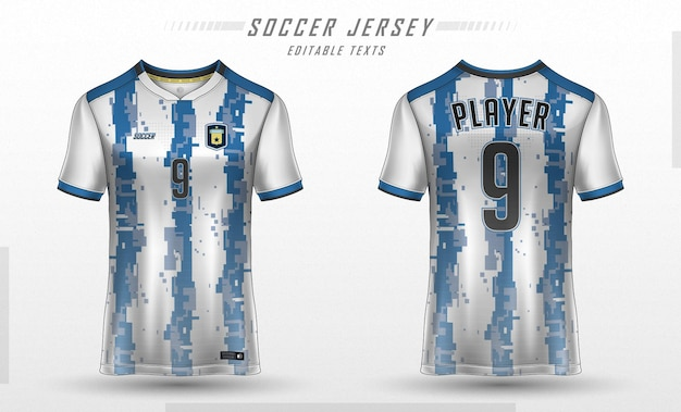 축구 유니폼 템플릿 스포츠 티셔츠 디자인