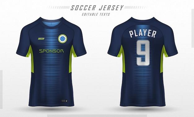 Soccer jersey template sport t shirt design