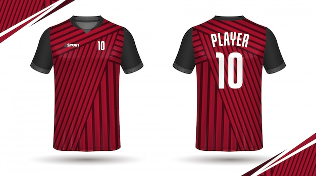 축구 유니폼 template.sport 티셔츠 디자인.