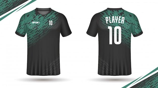 Шаблон футболки спортивный дизайн футболки