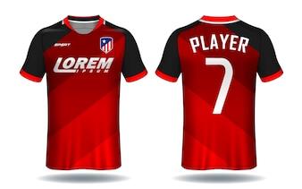 Soccer Jersey Templatesport T Shirt Design