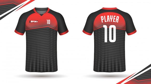 Soccer jersey template sport t shirt