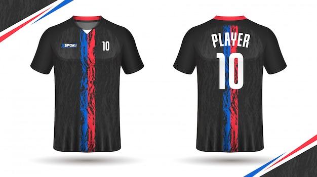 Soccer jersey template sport tshirt design