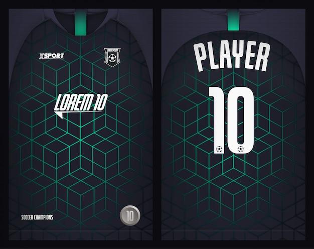 Soccer jersey template