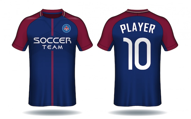 Soccer jersey template