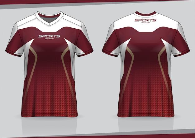 Soccer jersey tshirt sport template