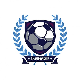 Логотип футбола, американский логотип