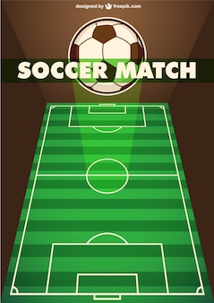 Modello partita di calcio