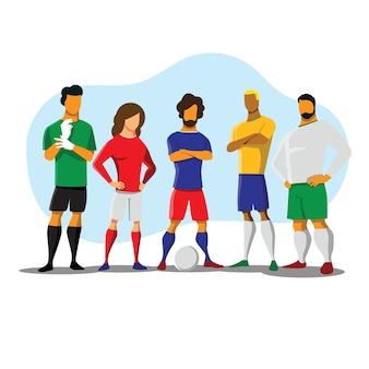 Футболист команды groupt мультфильм