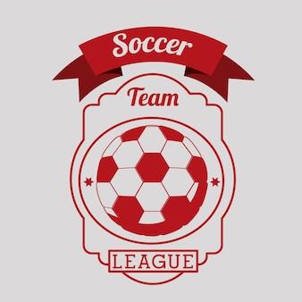 Футбол спортивный дизайн