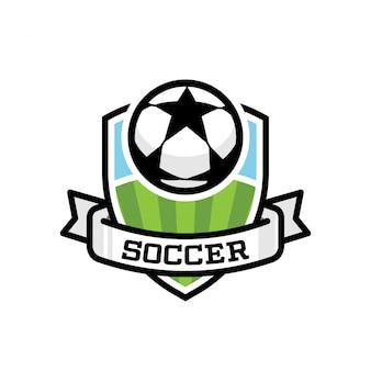 サッカースポーツロゴ