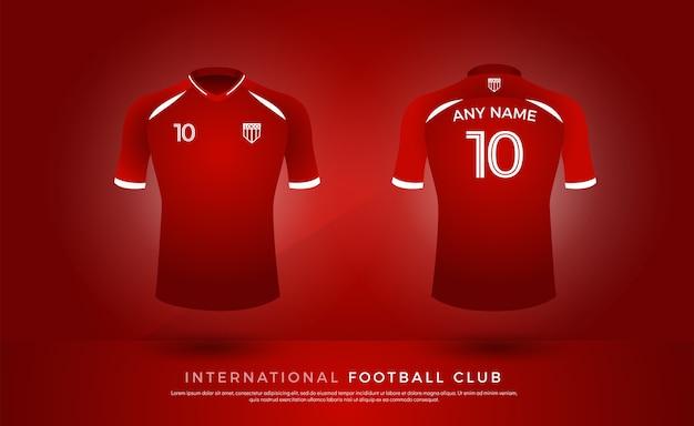 Футболка футболка единый набор футбольный комплект. футбольный трикотаж