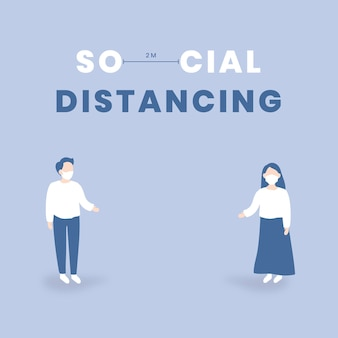 Distanziamento sociale e consapevolezza covid-9-9
