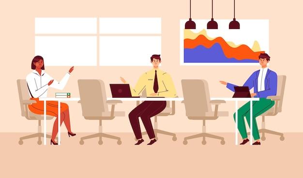 Distanziamento sociale nelle riunioni