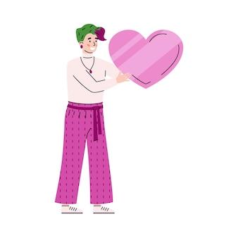 貧しい人々のためにボランティアによって愛情を込めて集められた社会的支援チャリティーと寄付