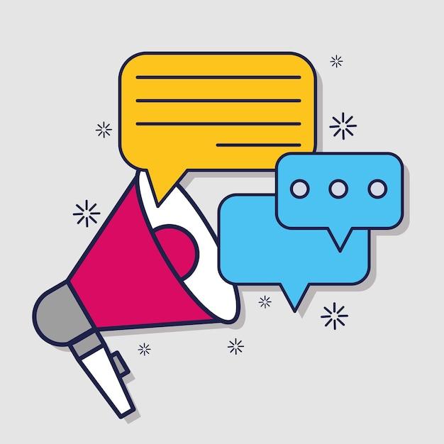 소셜 미디어 광고 메시지 마케팅