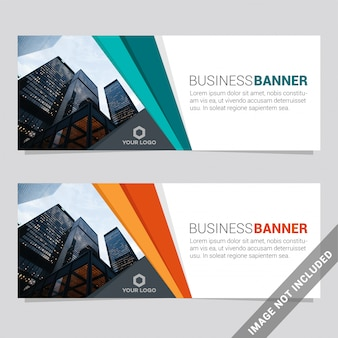 Social media banner template