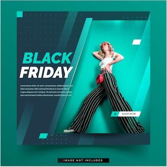 Social media black friday template